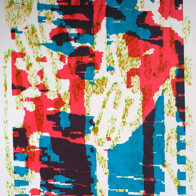 Affiche Psychotic Glitch Mantra Pablo Hermann