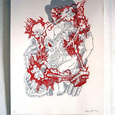 Affiche Cadavres Exquis 3 Johanny Melloul Rafael Houee