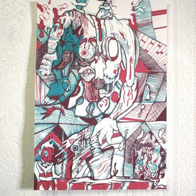 Affiche Joker Jeremy Ledda