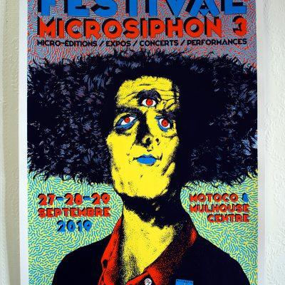 Affiche Microsiphon 3 2019 Elzo Durt Julia Mancini