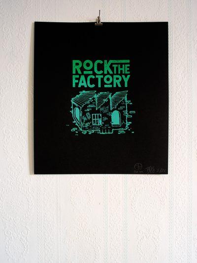 Affiche Rock the Factory Image Fantôme
