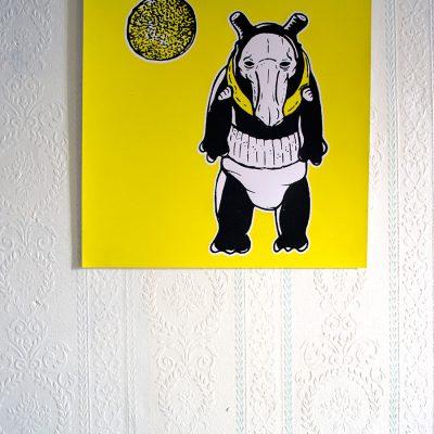 Affiche Space Tapir Jeremy Ledda