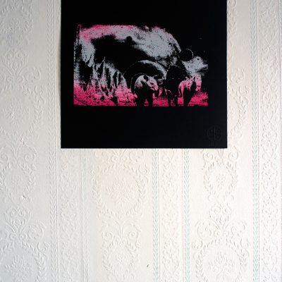 Affiche Venus in fur Jeremy Ledda