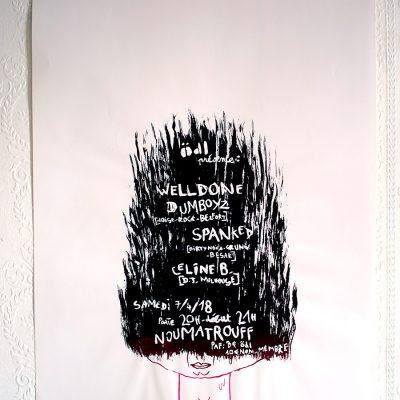 Affiche Welldone Dumboyz Spanked Johanny Melloul