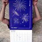 Calendrier 2019 Les éléments chimériques Décembre